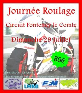 affiche de la journée du 29 juillet fontenay-le-comte-265x300